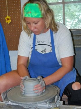 Family Creative Arts Festival clay